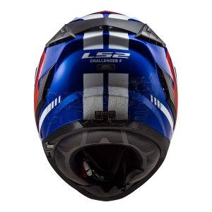 Casco Integral Ls2 Ff327 Challenger Fusion Azul/rojo