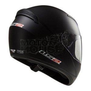 Casco P/ Motociclismo Integral Ls2 Ff352 Solid Negro Mate