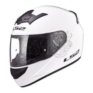 Casco P/ Motociclismo Integral Ls2 Ff352 Rookie Solid Blanco