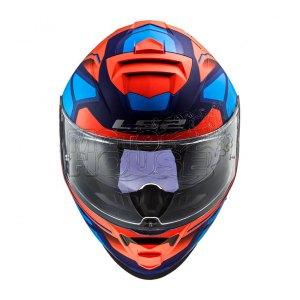 Casco Integral P/ Motociclismo Ls2 Ff800 Storm Faster Azul