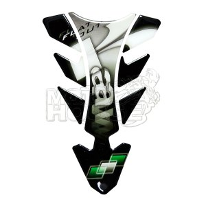 Protector De Tanque Tankpad Print Mod. Future Kawasaki Gris