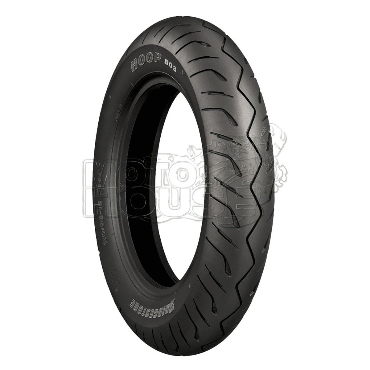 Llanta Para Motocicleta Bridgestone Hoop B03 120/70-13 55h