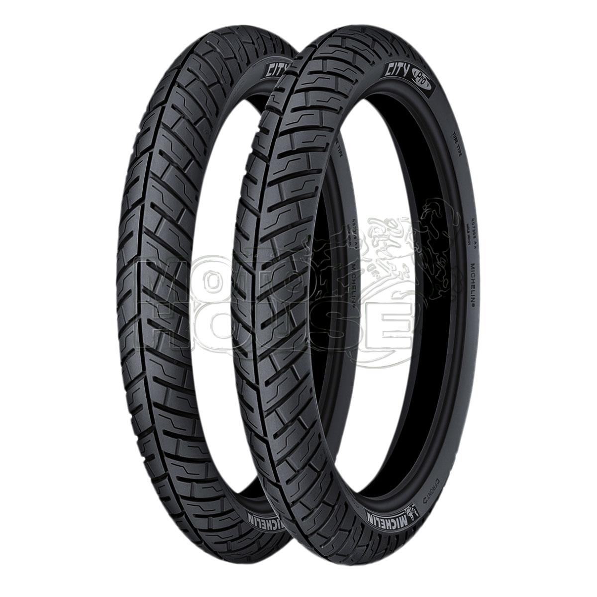 Llanta Para Moto Michelin City Pro 100/90-18 Usa Cámara
