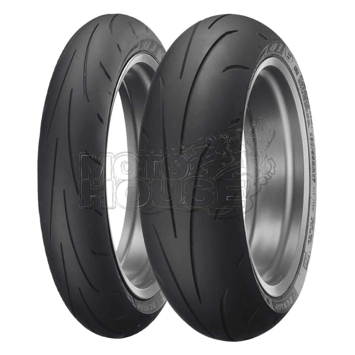 Llanta P/ Moto Dunlop Sportmax Q3 190/55-17 75w