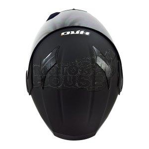Casco Abatible C/Luz Trasera HRO 3400DV Solid Negro Mate