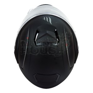 Casco Abatible Mt Helmets Atom Solid Negro Mate