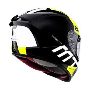 Casco Integral Mt Helmets Blade 2 Sv Amarillo Fluo