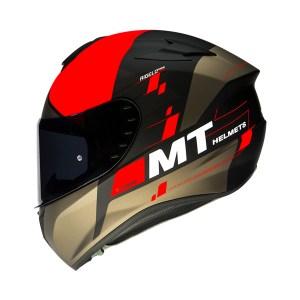 Casco Integral Mt Helmets Targo Rigel Rojo Mate