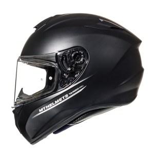 Casco Integral Mt Helmets Targo Solid Negro Mate