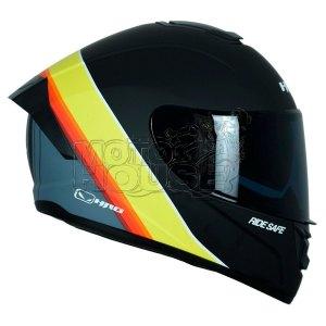 Casco Integral Hro 518 Sunlight Negro/amarillo