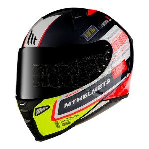 Casco Integral Mt Helmets Revenge 2 Rs Negro Perla Brillante