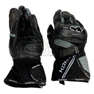 Guantes P/ Moto Largos Textil C/ Protecciones Kohl 001 Gris
