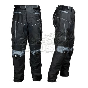 Pantalón P/ Motociclismo Con Protecciones Certificadas K606