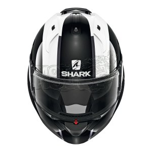 Casco Abatible Shark Evo Es Endless Negro/blanco
