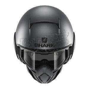Casco Modular Shark Street Drak Neon Serie Antracita/negro