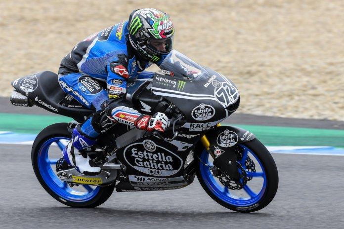 Alonso Lopez testes Moto3 Jerez II 3