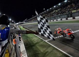 Andrea Dovizioso_Marc Marquez GP Qatar