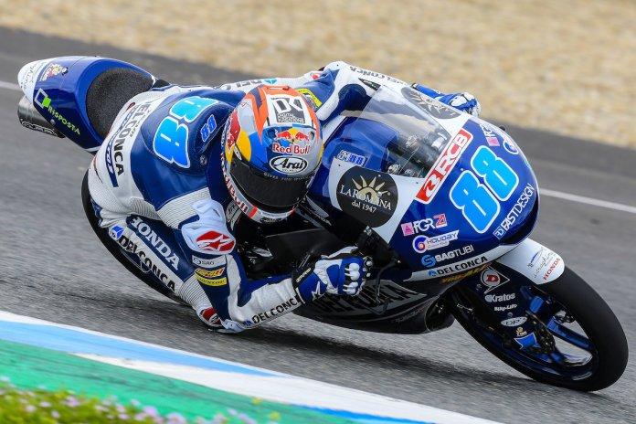 Jorge Martin testes Moto3 Jerez II 3
