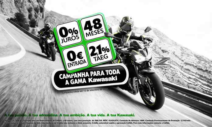 Campanha Kawasaki 0% Juros