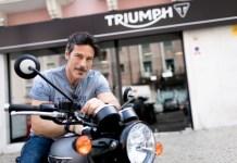 Paulo Pires embaixador Triumph 1