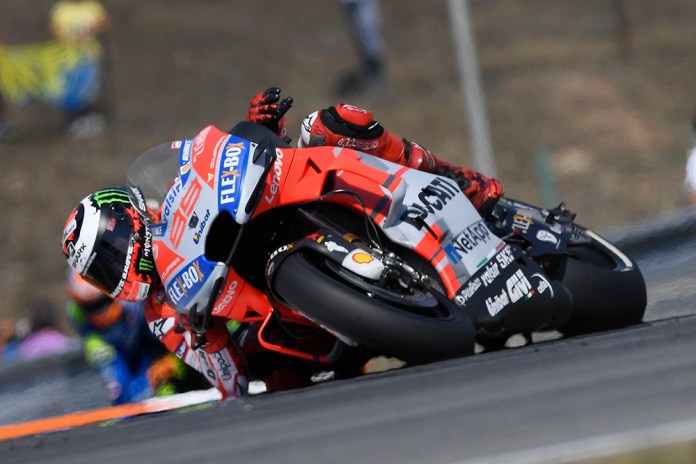 Jorge Lorenzo GP Rep Checa qualif