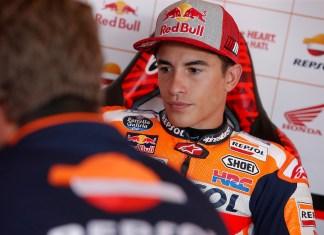 Marc Marquez Brno Test