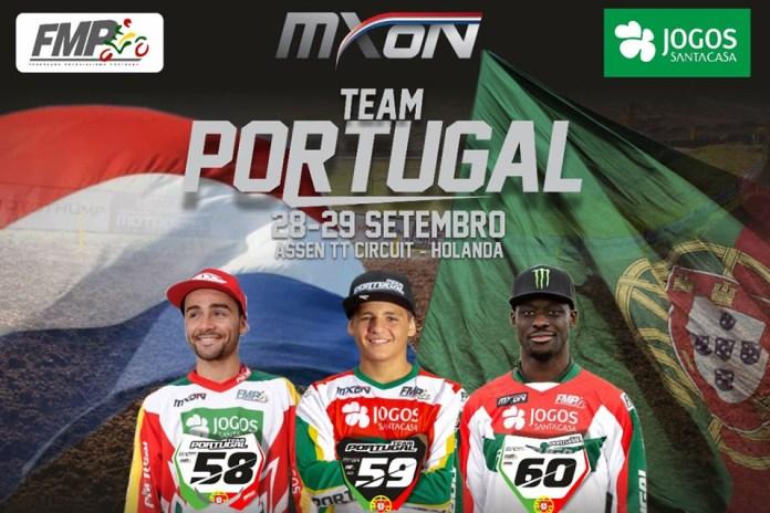 Trio luso pronto para o MX das Nações 2019