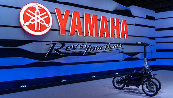 Yamaha no Salão de Tóquio