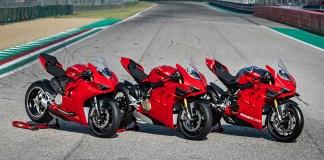 Ducati Panigale V2, V4S e V4R