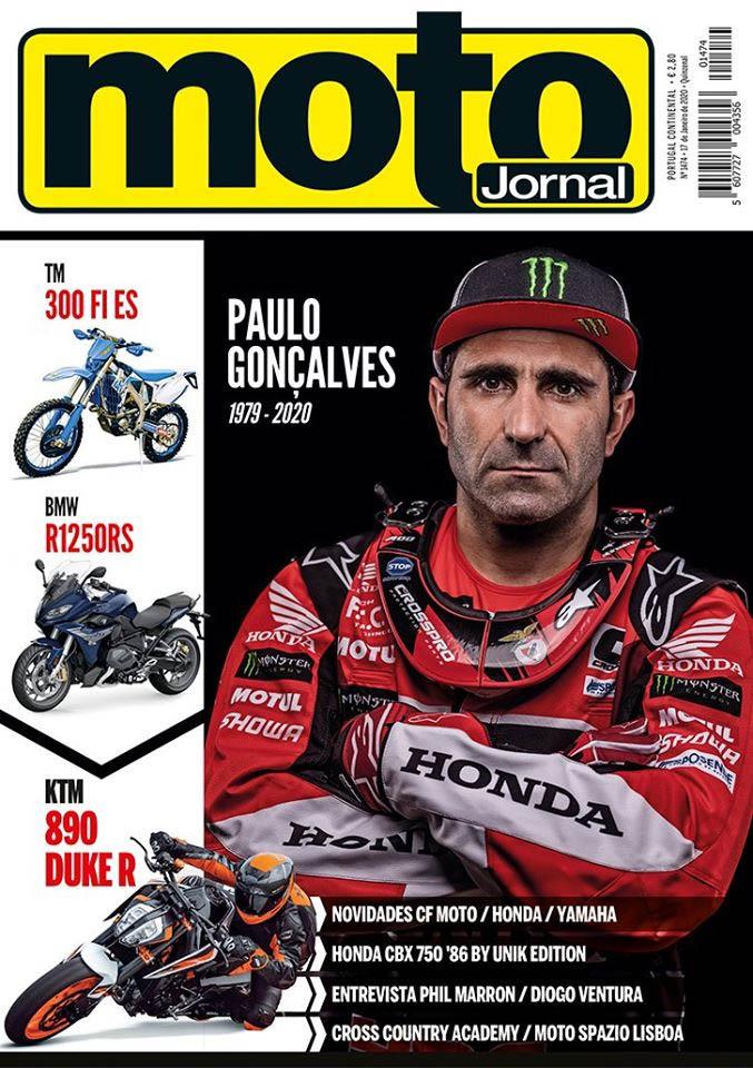 Capa Motojornal Paulo Gonçalves