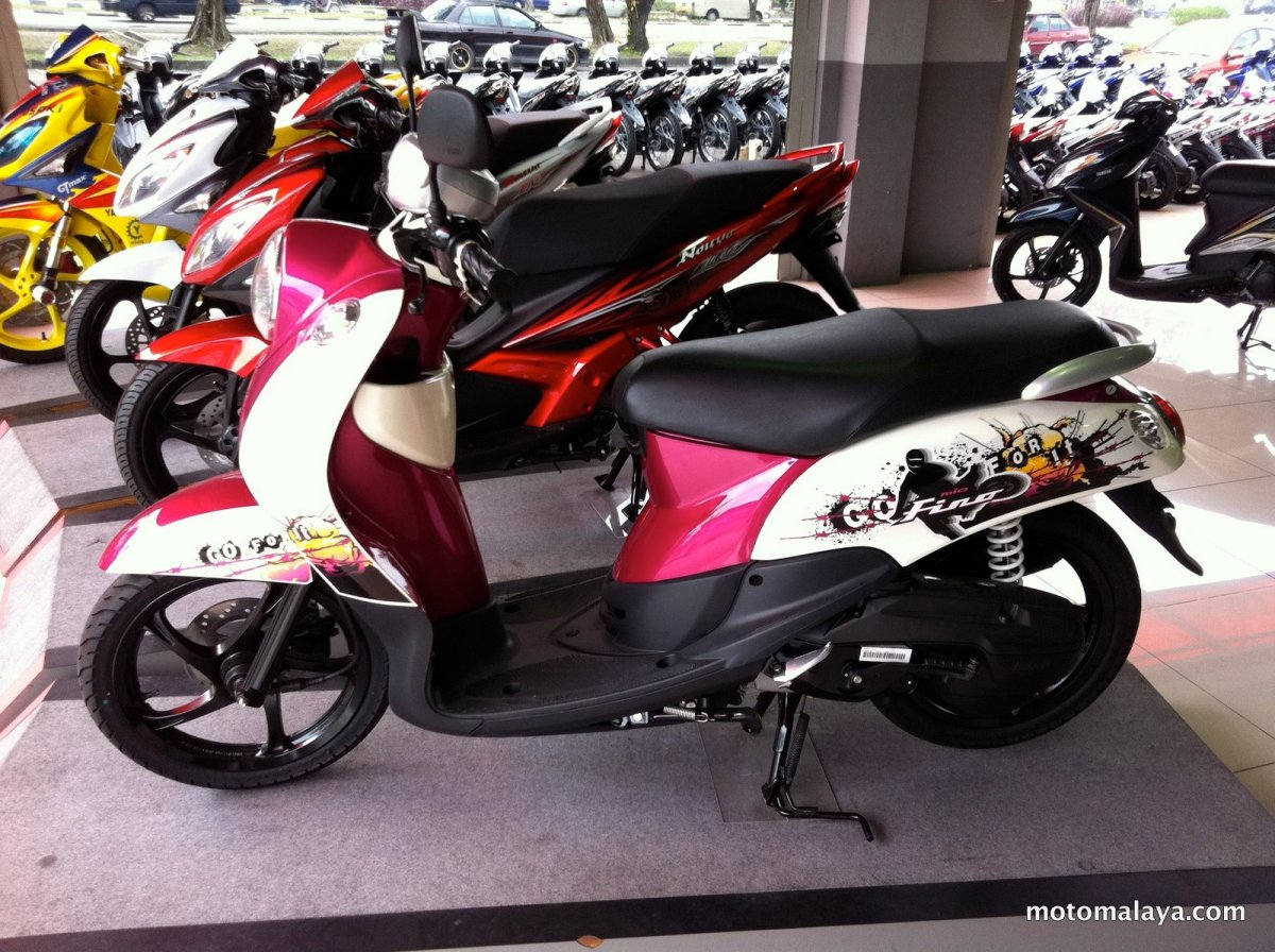 Yamaha Mio Fino Is Now In Malaysia At RM6000+