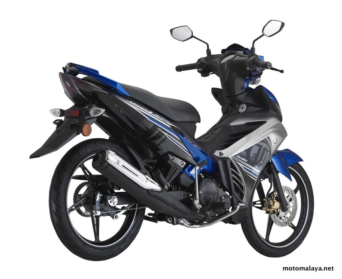 Galeri: Gambar Studio Yamaha 135LC 4-kelajuan (2016) - RM7,068.08 (harga asas termasuk GST)