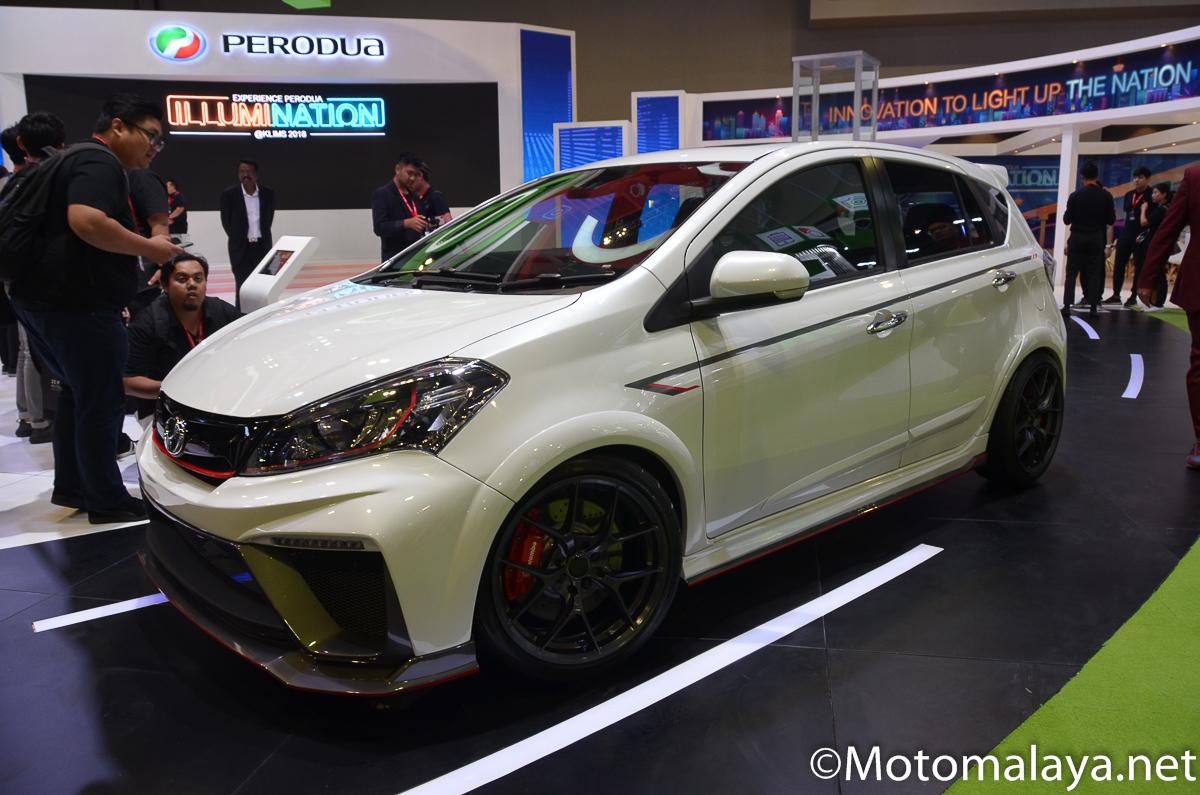 Perodua Myvi GT – Konsep 'garang' luar biasa! - MotoMalaya