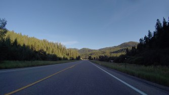 The entrance to Teton Pass