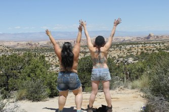 We got a little topless at Ghost Rocks