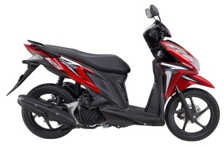 Vario CBS 125 Helm in PGM-FI Bionic Red