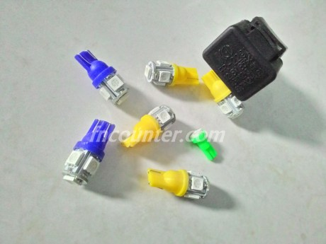 LED Kuning_ LED Biru_ Flasher LED