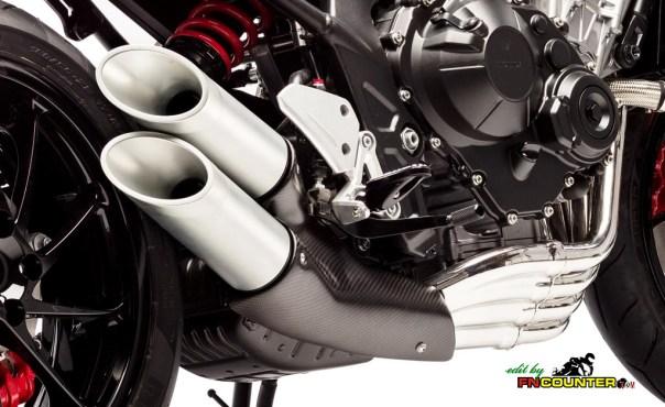 Honda CB4 Concep Exhaust Side