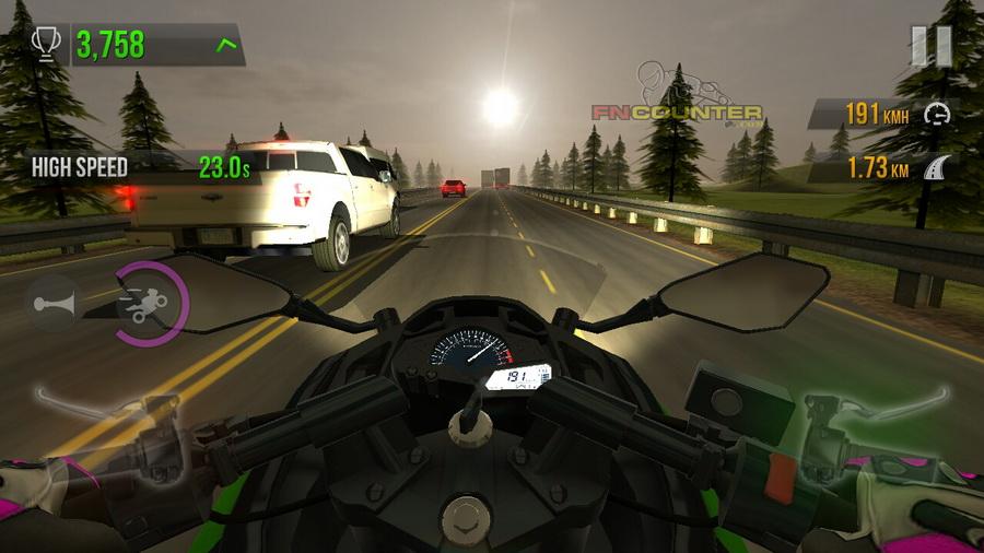 Traffic Rider   Jajal Top Speed Ninja 300 FI vs CBR 250R Hingga