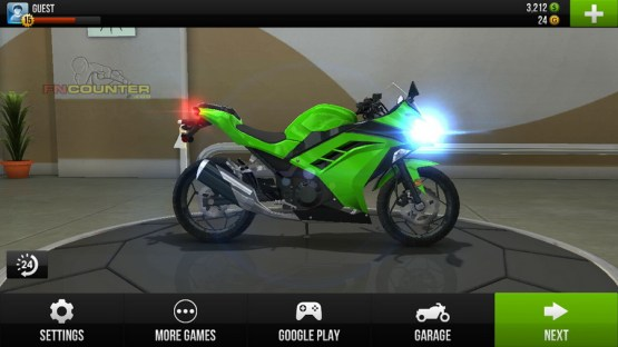 NINJA 250FI - Traffic Rider