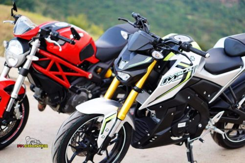 Xabre 150 vs Ducati Monster 4