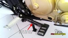 Satria F150 FI - handle rem belakang