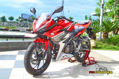 all new CBR150R Front Look