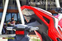 all new CBR150R Tail Lamp Desain
