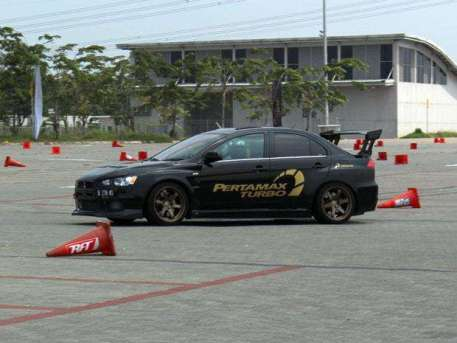 autocross Pertamax Turbo