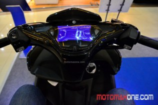 aerox 155 vva malang digital speedo