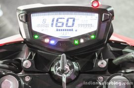 apache rtr200 speedometer console