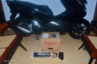 Perlengkapan Honda PCX 150 malang motomaxone