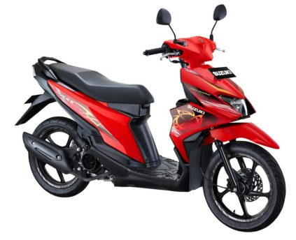 Suzuki NEX II Fancy Dynamic Stronger Red 2