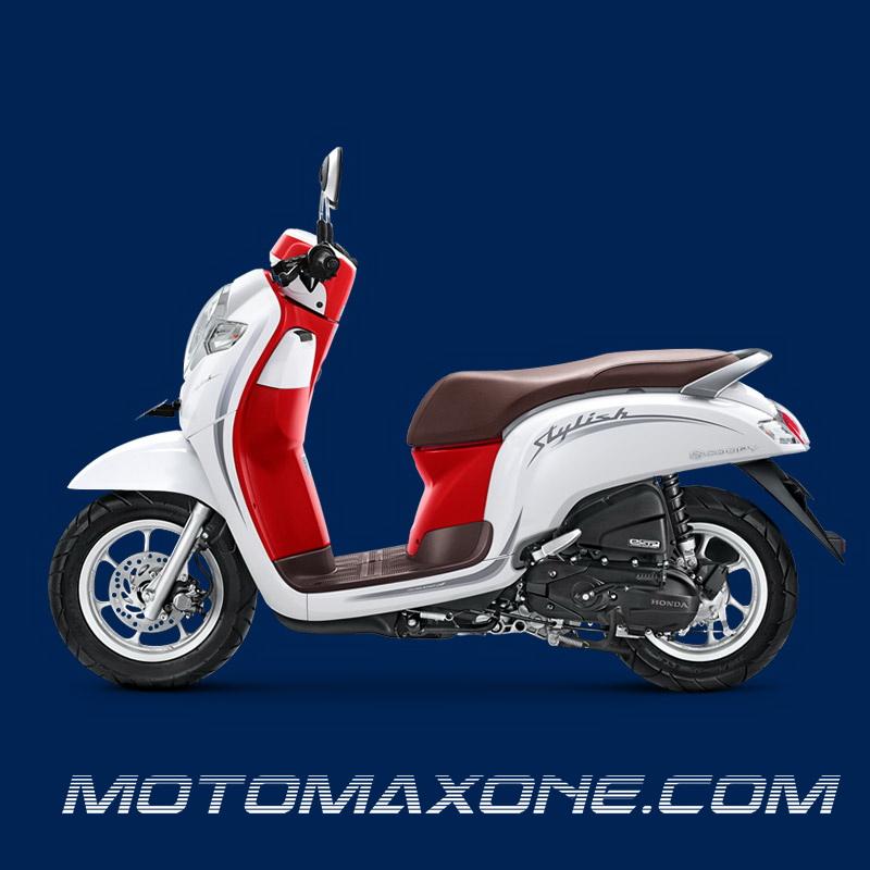 Honda Scoopy Merah Putih Bertema Kemerdekaan Indonesia Ke 74